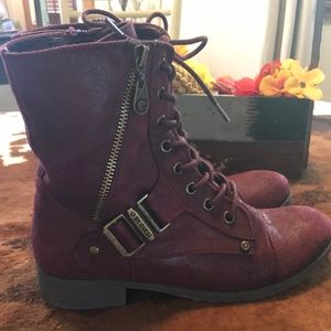 G by Guess suede boots by 5.5